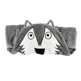 Kids' Hooded Blanket Wolf