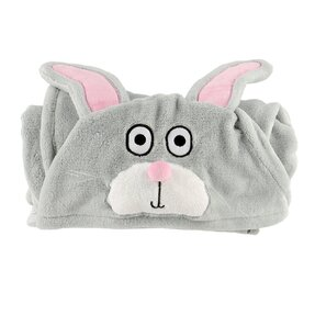 Kids' Hooded Blanket Bunny