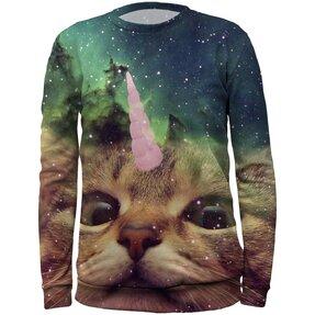 Gyermek pulóver Egyszarvú macska