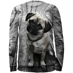 Kids' Sweatshirt Pug