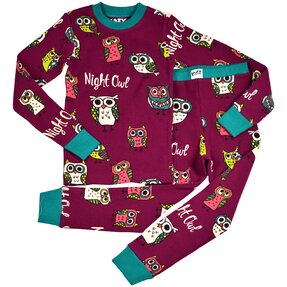 Pijamale copiii Bufnițe