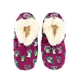 Detské plyšové papuče