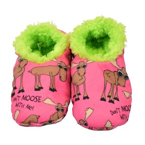 Kids' Plush Slippers Elk