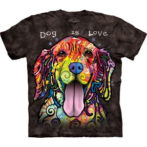 Black T-shirt with Short Sleeve Russo Cocker Spaniel