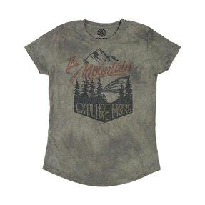 Damen Tri-Blend T-Shirt Entdecken Sie die Welt