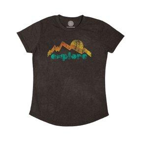 Női Tri-blend póló Fedezd fel a világot