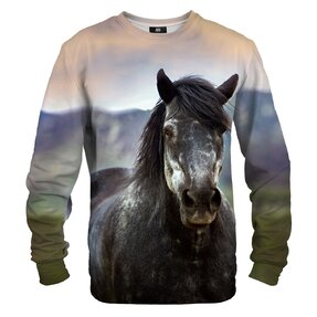 Mikina bez kapucne Divoký kôň