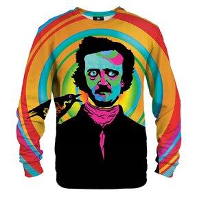 Mikina bez kapucne Edgar Poe