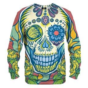 Sweatshirt Colourful Face of Death