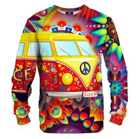 Sweatshirt ohne Kapuze Greenpeace old van