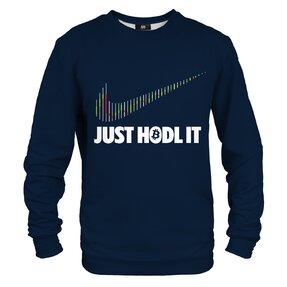 Sweatshirt ohne Kapuze Hodl