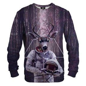 Sweatshirt Deer Astronaut