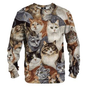 Sweatshirt Lots of Cats