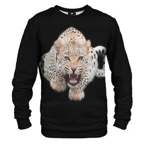 Mikina bez kapucne Leopard