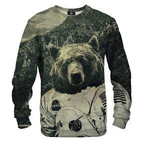 Mikina bez kapucne Medveď NASA