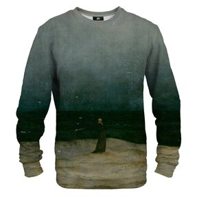 Sweatshirt Monk by the Sea