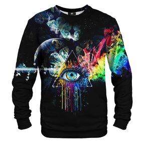 Sweatshirt ohne Kapuze Print Prism
