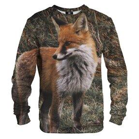 Mikina bez kapuce Pohled lišky