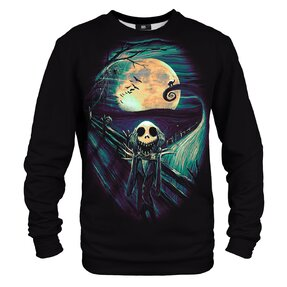 Sweatshirt ohne Kapuze Skelington