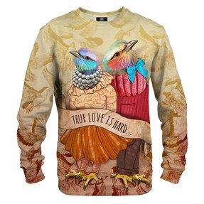 Sweatshirt ohne Kapuze Wahre Liebe
