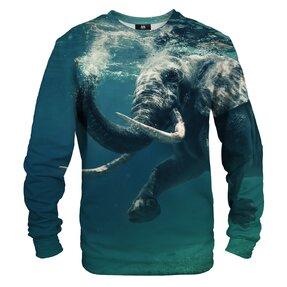 Hanorac fără glugă Elefant sub apă