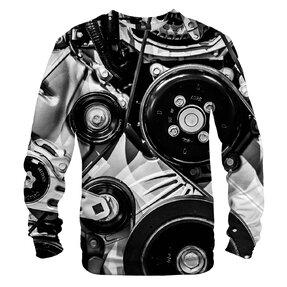 Sweatshirt ohne Kapuze Maschine
