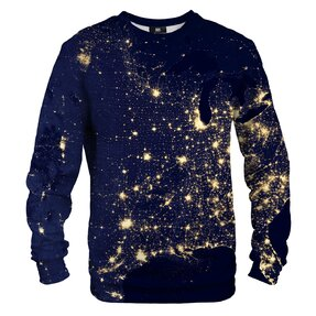 Sweatshirt ohne Kapuze Lichtkarte