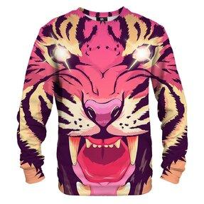 Pulóver kapucni nélkül Képregény tigris