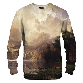 Sweatshirt Among the Sierra Nevada Mountains