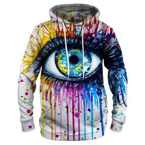 Mikina s kapucí Barvy v oku