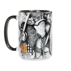 Originelle Tasse mit dem Motiv Ganesha