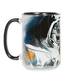 Originelle Tasse mit dem Motiv Katzen im Weltall