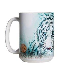 Originální hrníček s motivem Pohled bílého tygra