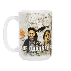 Originelle Tasse mit dem Motiv Ureinwohner