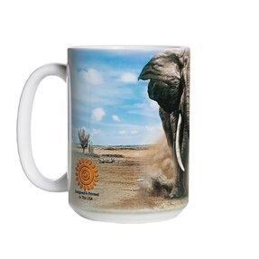 Originální hrníček s motivem Rozzuřený slon
