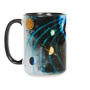 Căni originale cu motiv Sistemul solar