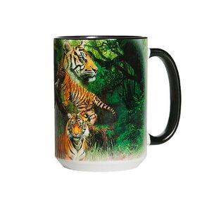 Oryginalny kubek z motywem Tygrysy w dżungli