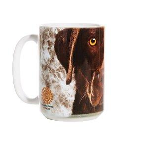 Originálny hrnček s motívom Tvár hnedého labradora