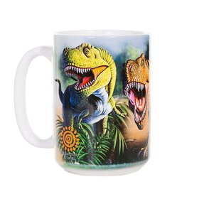Originální hrníček s motivem Tyrannosaurus Rex