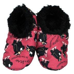 Plyšové papuče Medvedie rána
