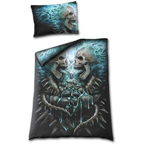 Bedding with design Blue Flame