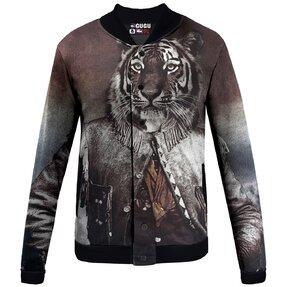 Prechodná baseballová bunda Plukovník tiger