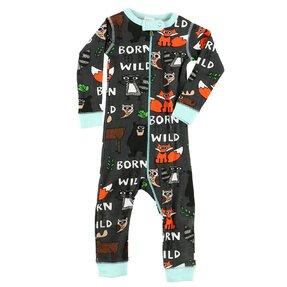 Csecsemő pizsama overál Vadnak született