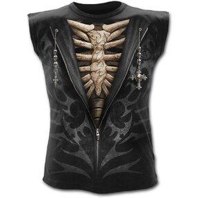 Men's Tank Top with Design Suit of Death