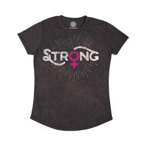Női Tri-blend póló Női erő