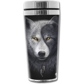 Thermo Mug with design Wolf Face