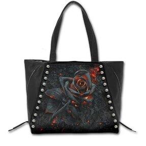 Tasche mit dem Motiv Feurige Rose