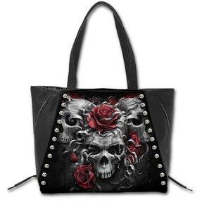 Tasche Drei Schädel und Rosen