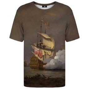 Tričko s krátkym rukávom Boj na mori