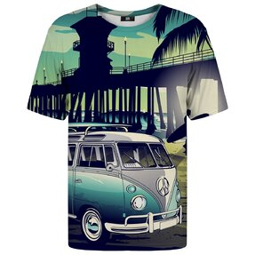 Tričko s krátkym rukávom California